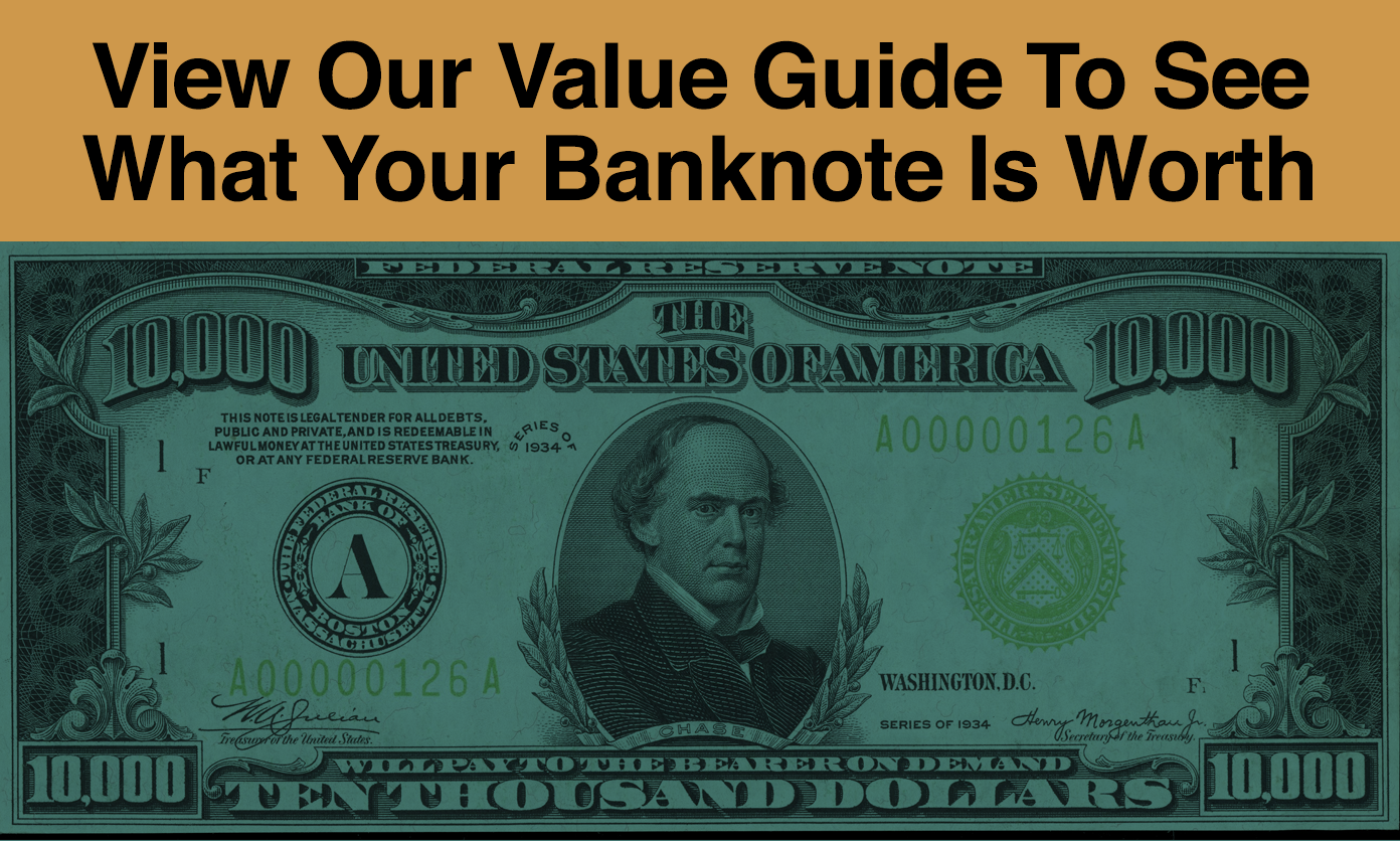 We Buy Banknotes Value And Price Guide Sell Bank Notes